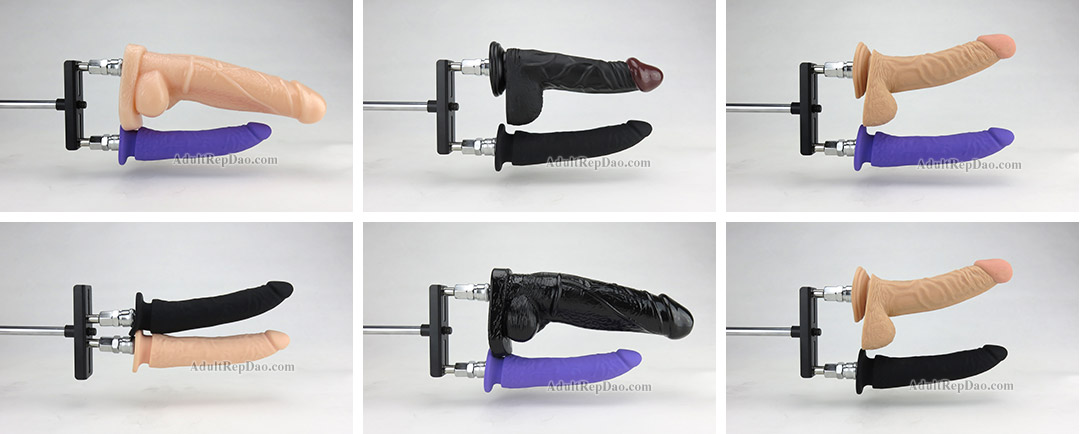 Double Penetration Accessory for Sex Machine Dildos