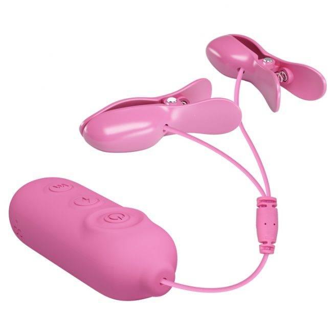 Pretty Love Vibrating Nipple Clamps BI-014861