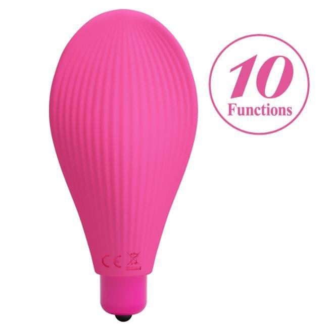 Pretty Love Female Erotic Toy Clit Stimulator Finger Vibrator BI-014736