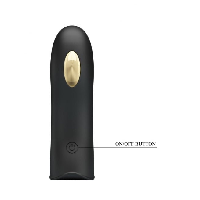 Pretty Love Erotic Toy Rechargeable Silicone Finger Sleeve Vibrator BI-014755