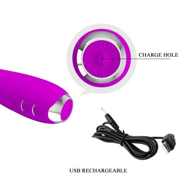 Pretty Love Erotic Toy Electric Clit Stimulator G-spot Vibrator BI-014765